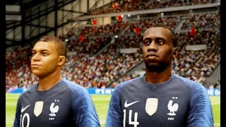 France vs Portugal FIFA 19 Difficulté Ultime Gameplay PC
