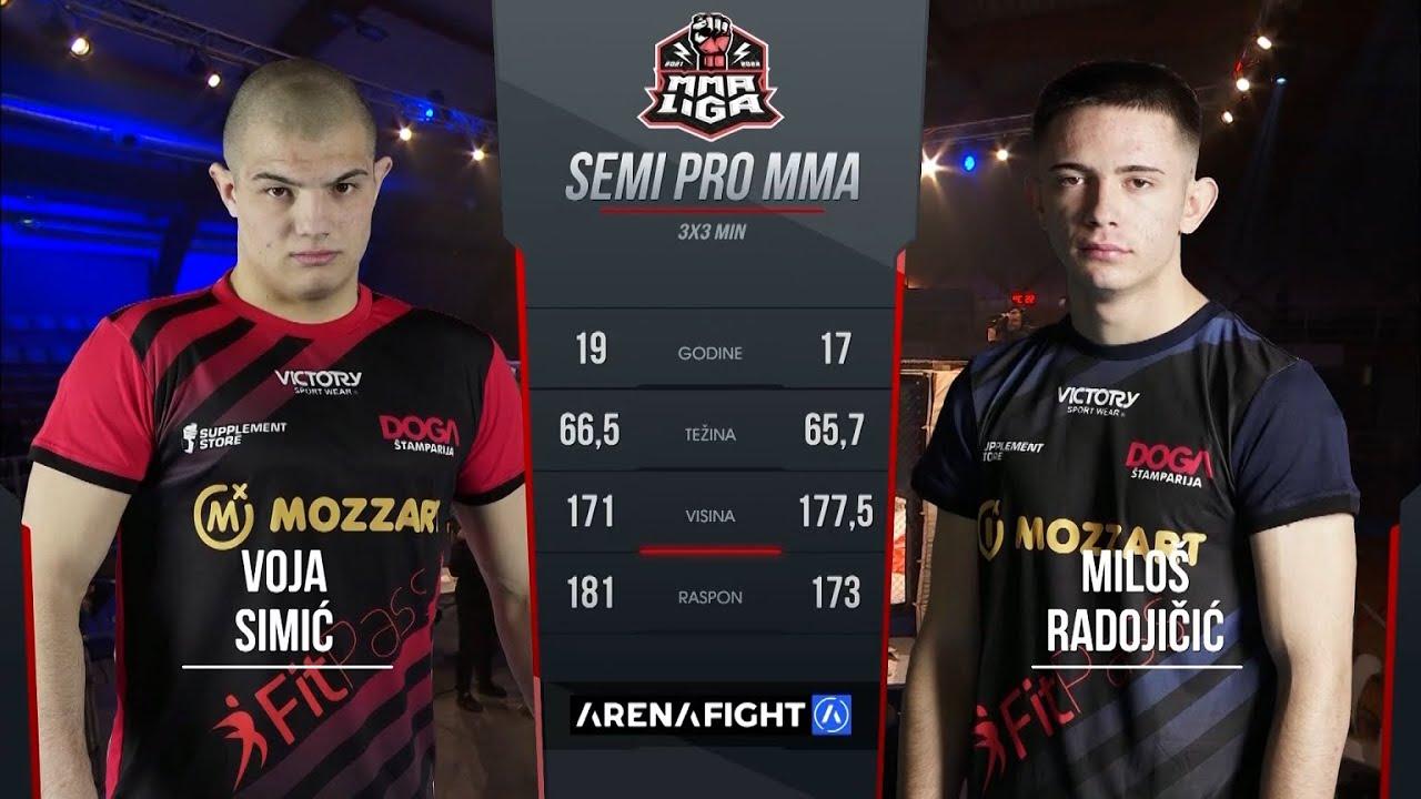 Download Voja Simić vs.  Miloš Radojičić / MMA LIGA SRBIJE 1.kolo