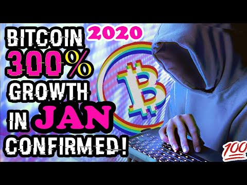 Bitcoin 300% Growth In January Confirmed! (BITCOIN 2020) Bitcoin Price Prediction