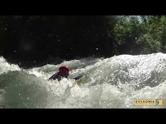 Vidéo stage HYDROSPEED Isère et Doron de Bozel avec EssaOnia
