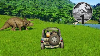 Jurassic World Evolution - Part 1 - The Beginning
