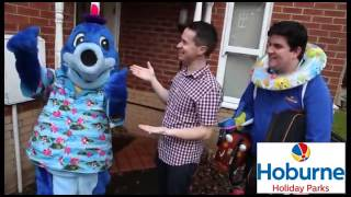 CBeebies Presenter Alex Winters at Hoburne Holiday Parks for 2014