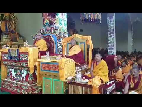 Dorjee shugden monks. And high lama in Tibet  2016