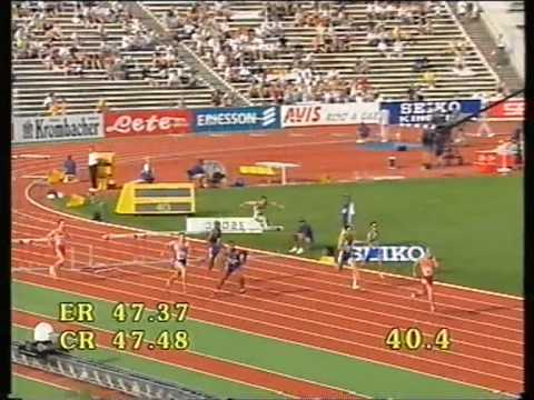 1998, Tom McGuirk, European Athletics Championships, 400mH SF