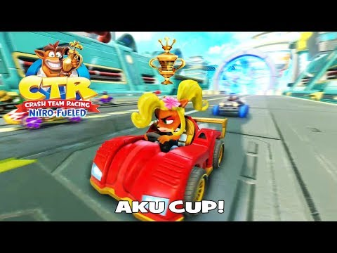 Aku Cup | CTR Nitro-Fueled (PS4)
