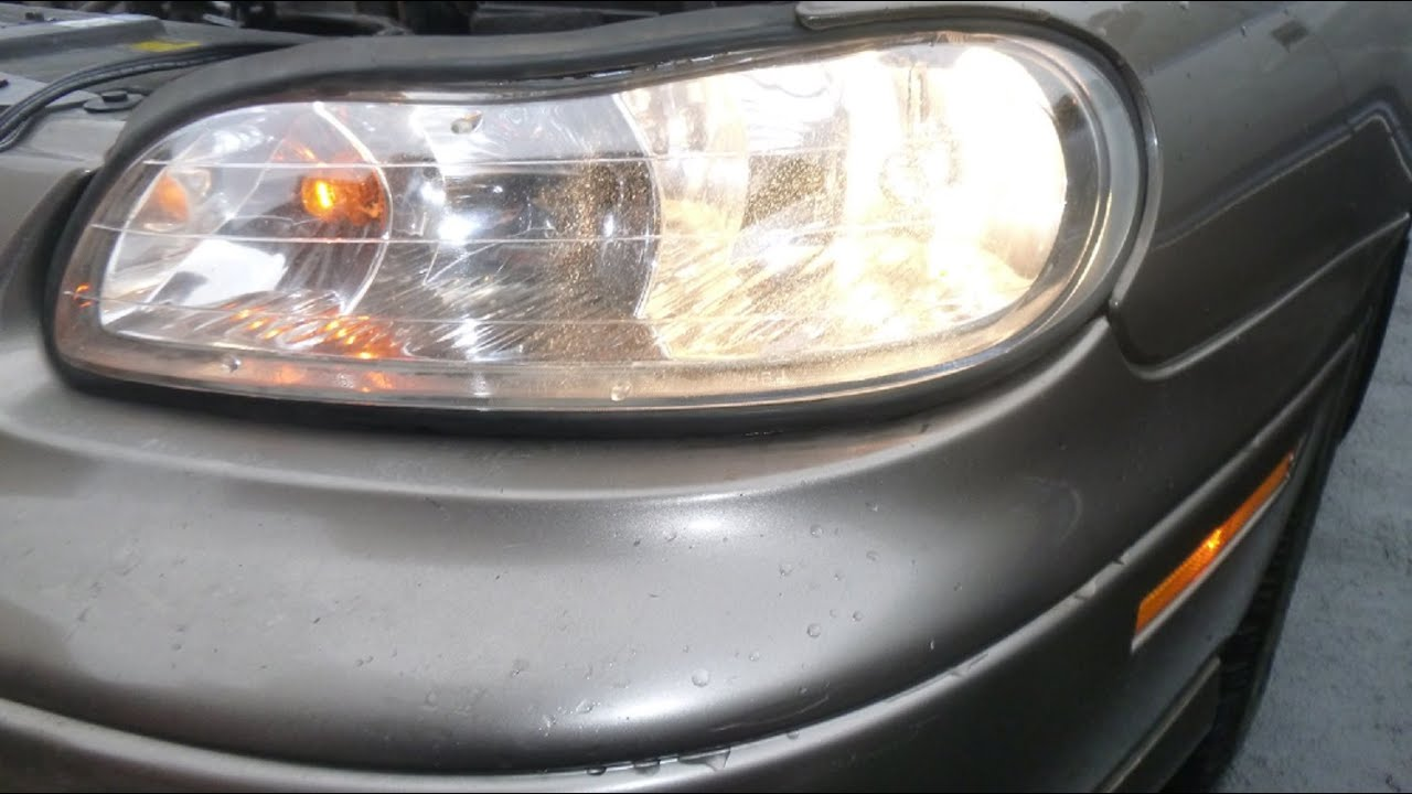Fixing A Leaky And Foggy Composite Headlight Embly On 2001 Chevy Malibu