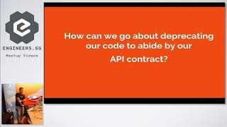 Deprecating APIs - Singapore PHP User Group