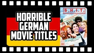 10 Horrible German Movie Title Translations 🎬 Get Germanized
