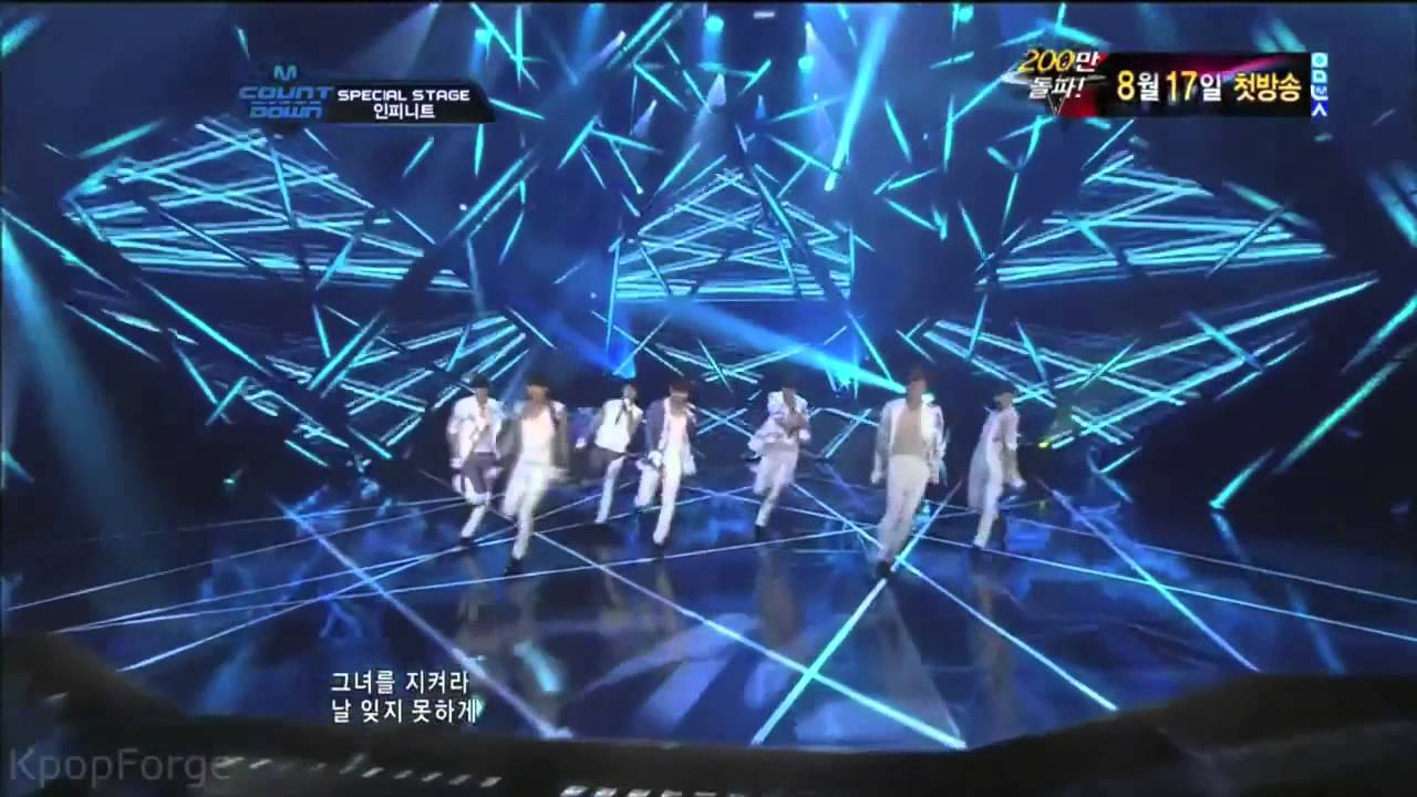 Infinite The Chaser Choreography Compilation