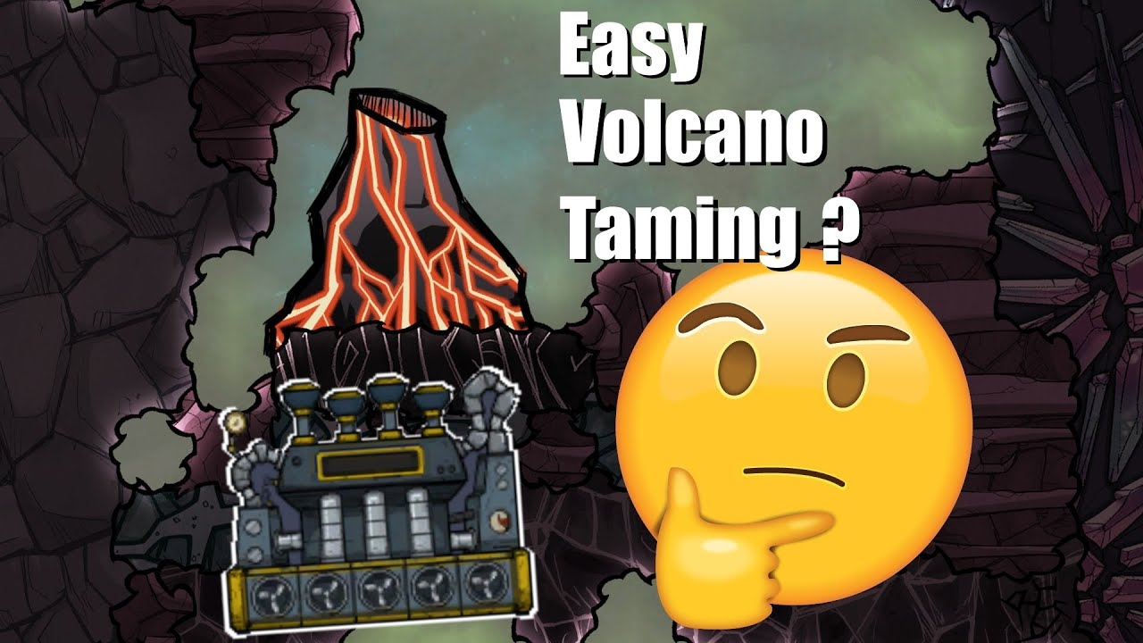 Oxygen Not Included QOL Mk3 - Simple Major Volcano Taming 1 - Steam Power