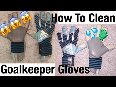 How To Clean Goalkeeper Gloves (3 Simple Steps)