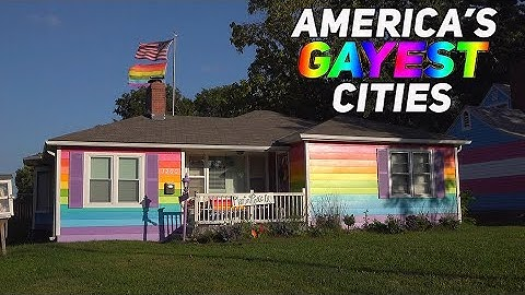 The 10 GAYEST CITIES in AMERICA