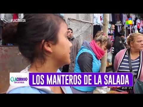 Volvieron las ventas ilegales a las calles de La Salada
