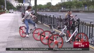 Mobile app in China makes bicycles trendy once again