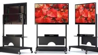 Boltz Mobile Flat Panel TV Cart