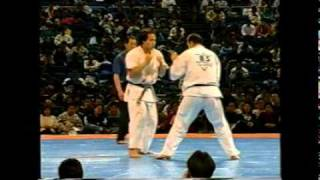 Kunihiro Suzuki - The 6th Karate World Tournament 1 - 3 Rd Highligh...