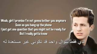 Charlie Puth - Does It Feel - Lyrics - مترجمة