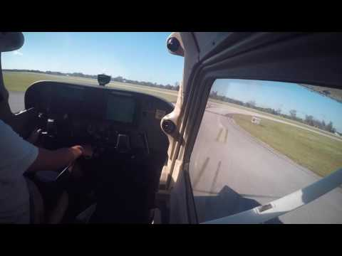 C172S  KISM-KGIF with full ATC
