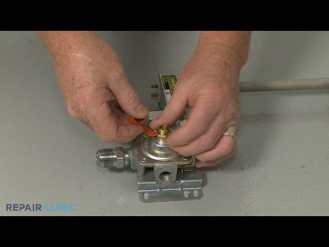 Valve Regulator Assembly - Kitchenaid Double Oven Gas Range (Model #KFGD500ESS04)