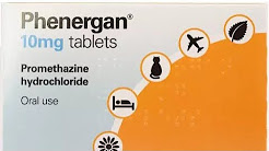 Phenergan - Promethazine - NON ADDICTIVE OTC sleeping pill that works - anti histamine
