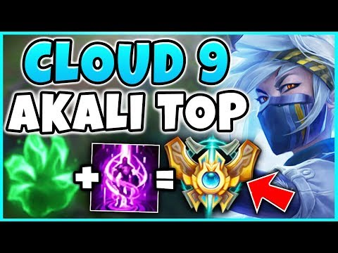 THIS *NEW* WORLDS 2018 AKALI BUILD IS 100% BROKEN!  BEST POSSIBLE AKALI BUILD! - League of Legends