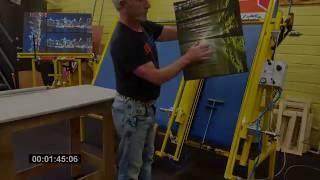 Canvas Stretching Machine - Gapp Engineering