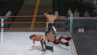 WWE SmackDown vs  RAW 2010 Wii Gameplay