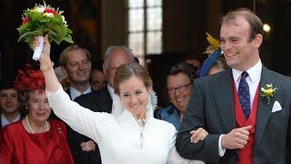 Franziskus von Gumppenberg & Katharina von Ballestrem - Adelshochzeit wie aus dem Bilderbuch: Sie ha
