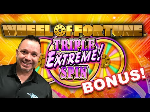 Wheel of Fortune Triple Extreme Spin BONUS WIN$ at Sea!
