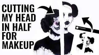 RECREATING MY SUB'S ART and Turning it into Makeup!