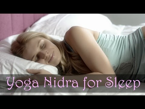 Yoga Nidra For Sleep - Powerful Guided Meditation to Fall Asleep Fast #yoganidra #sleep