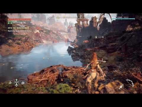 Horizon Zero Dawn- Ancient Vessel 'Arches' location to the left of Devils Thirst Ruins
