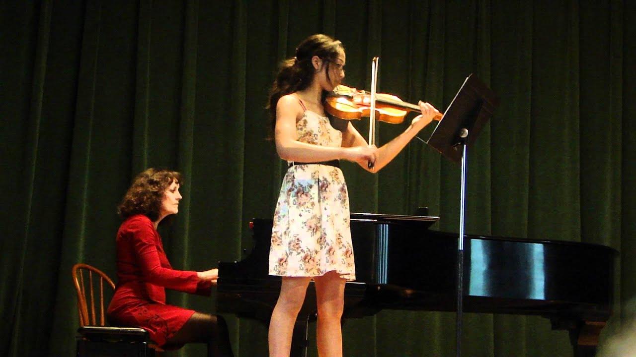 Arie's spring 2011 violin recital: Perpetual Motion - Carl Bohm ...