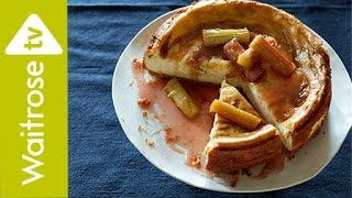 Rose And Rhubarb-ripple Cheesecake | Waitrose