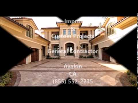 Contractor (855) 552-2235 remodeling | General Contractor Avalon, CA