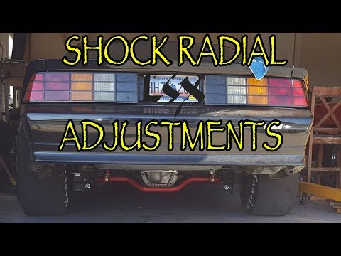 F-body suspension setup to dead hook on a Drag Radial