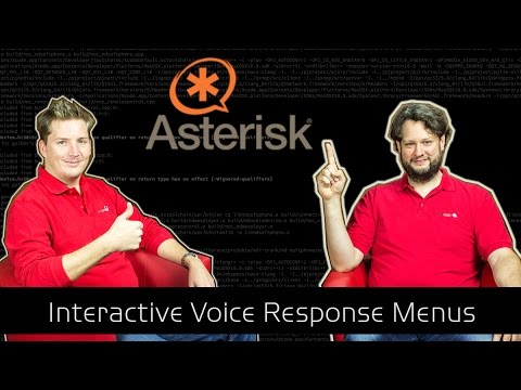 Asterisk Tutorial 30 - The concept of IVR menus [english]