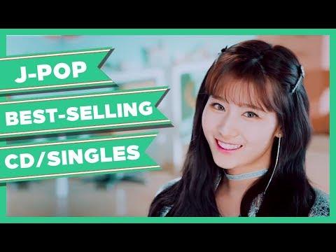 JPOP BEST-SELLING CD/SINGLES SERIES 2018 [w4/May]