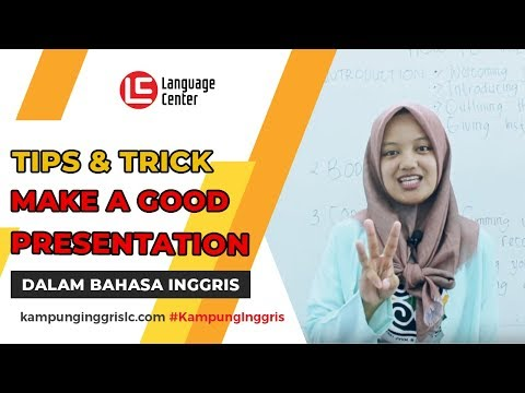 How To Make A Good Presentation English Version Teatu 3 Lc Kampung Inggris Pare Youtube