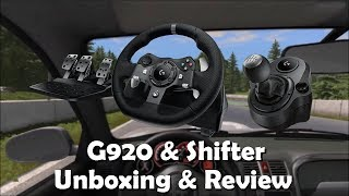 [Review] Logitech G920 Driving Force With Shifter