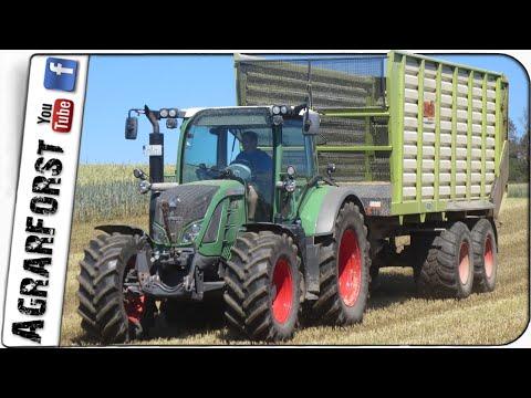 Großauftrag GPS Häckseln 2020 - Drei Lohnunternehmen für 10MW Biogasanlage!