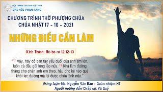 HTTL PHAN RANG - Chương Trình Thờ Phượng Chúa - 17/10/2021