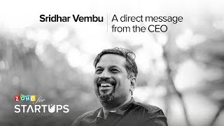 A direct message to all startups from our CEO