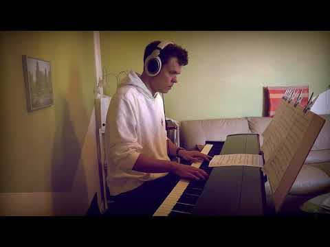 Dan + Shay, Justin Bieber - 10,000 Hours - Piano Cover - Slower Ballad Cover