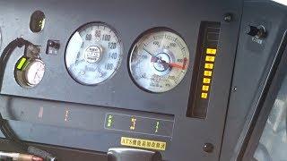 223系ATS-P作動で非常ブレーキ!