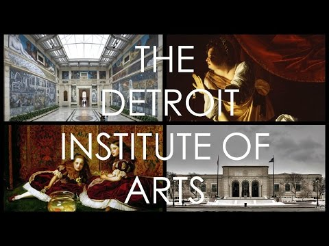THE DETROIT INSTITUTE OF ARTS | LETS GO TO THE MUSEUM