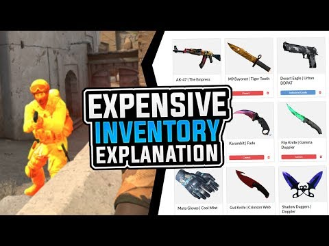 CS:GO | Expensive Inventory Explanation + (PlatinumCheats Giveaway) #InventoryChanger