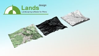 Landscape architecture: Scan and import terrains into Rhino from cloud