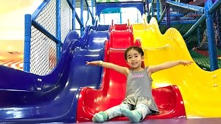 Indoor Playground Three Color Slide Family Fun For Kids,Toddlers, Children And  Babies
