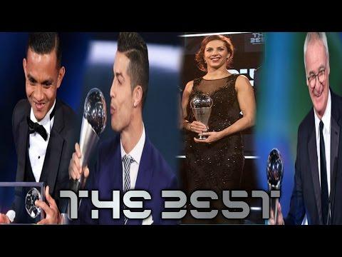 The Best Fifa Awards | Ultimas Noticias | Cristiano El Mejor | Ranieri mejor Entrenador y mas